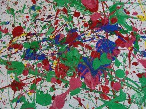 Dripping Paint with Pollock