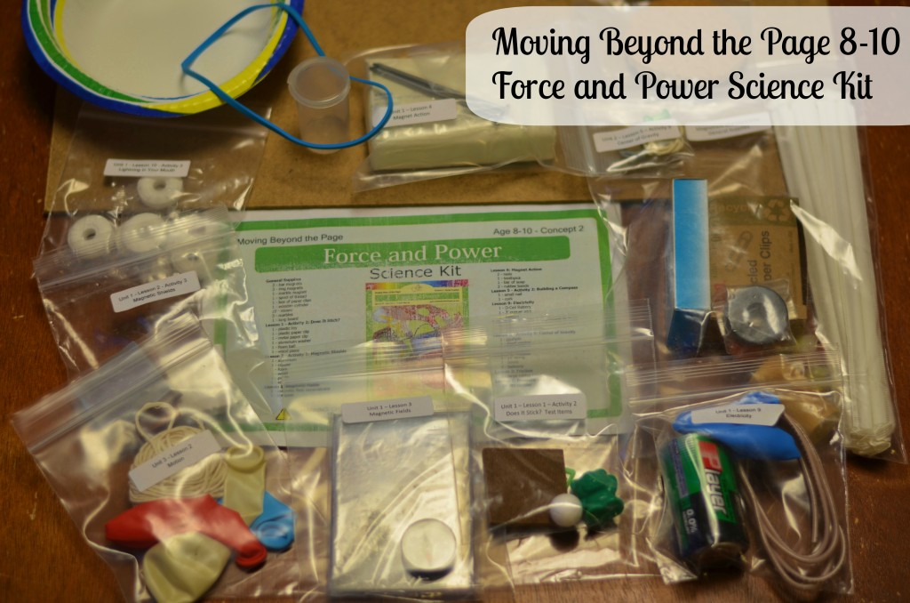 Force and Power Science Kit