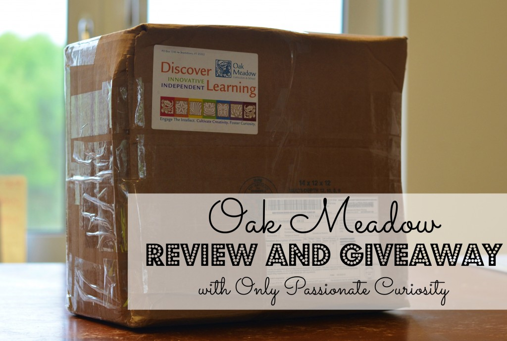 Oak Meadow Review and Giveaway