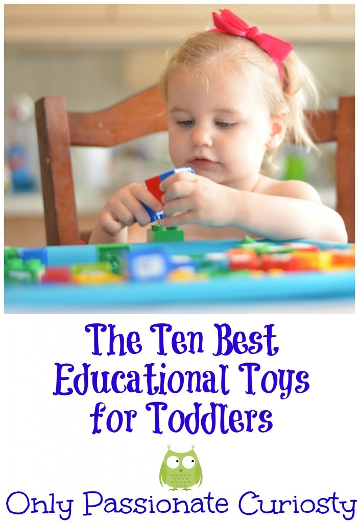 What Are The Best Learning Toys For Toddlers : How to teach with a toddler underfoot our top