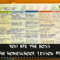 The Flexible Homeschool {Keeping that Planner in Check}