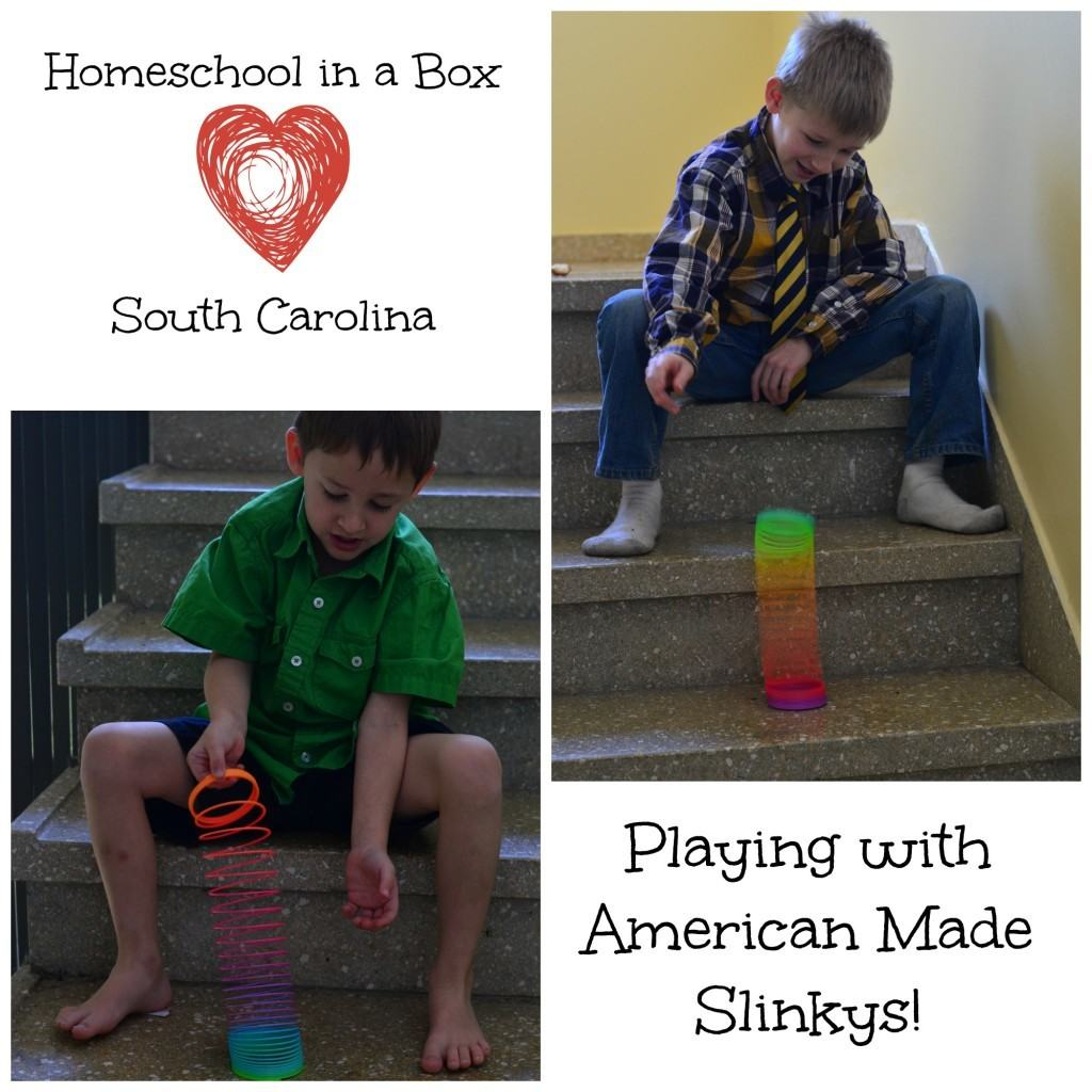 Homeschool in a Box {Learning about South Carolina}