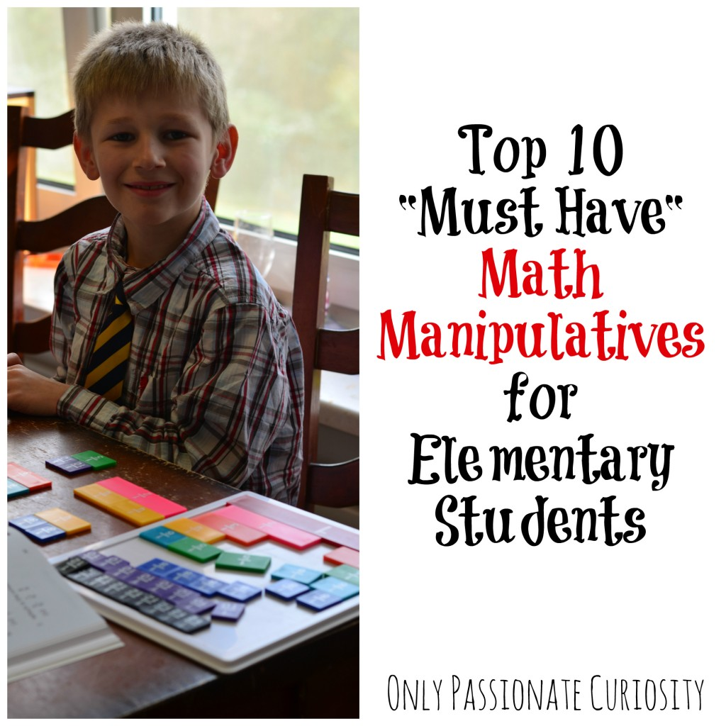 Stock up on these manipulatives!