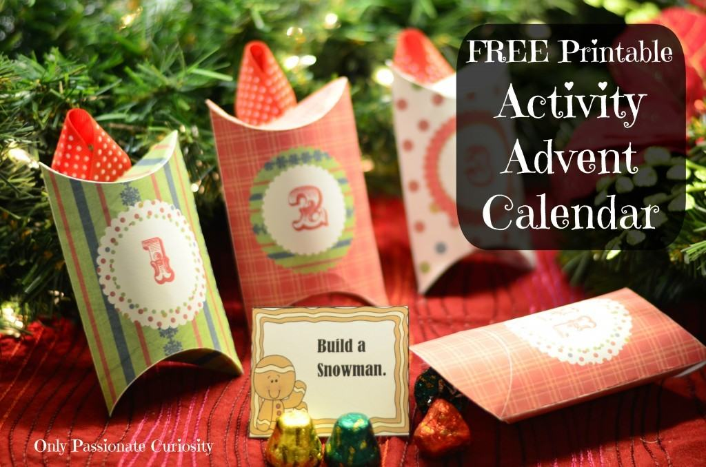 Giant Advent Calendar Ideas : Holiday traditions free printable activity advent calendar