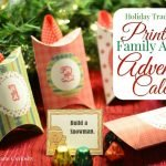 Holiday Traditions: Printable Activity Advent Calendar