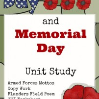 Veteran's Day & Memorial Day Printable Pack for All Grades