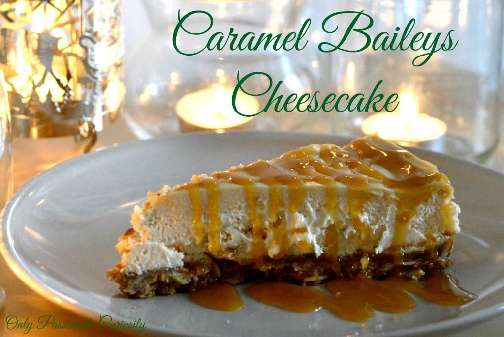 So here you are, my own recipe for the BEST Caramel Baileys Cheesecake ...