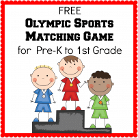 Winter Olympics Printables