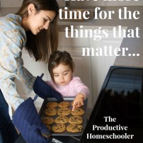 How to be a more productive homeschooler- take back your time so you can do the things that matter!