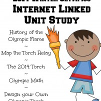 Winter Olympics Torch Relay Unit Study