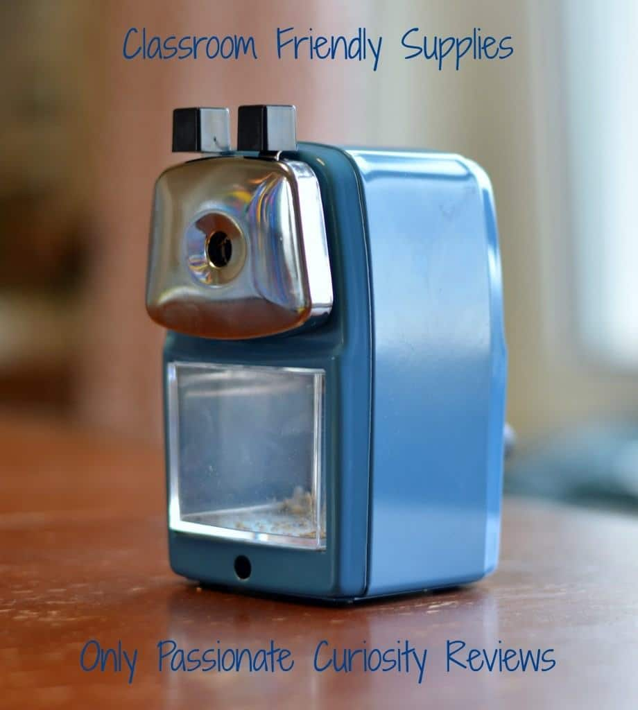 Classroom Friendly Supplies: A RELIABLE Pencil Sharpener {Review and Giveaway!}