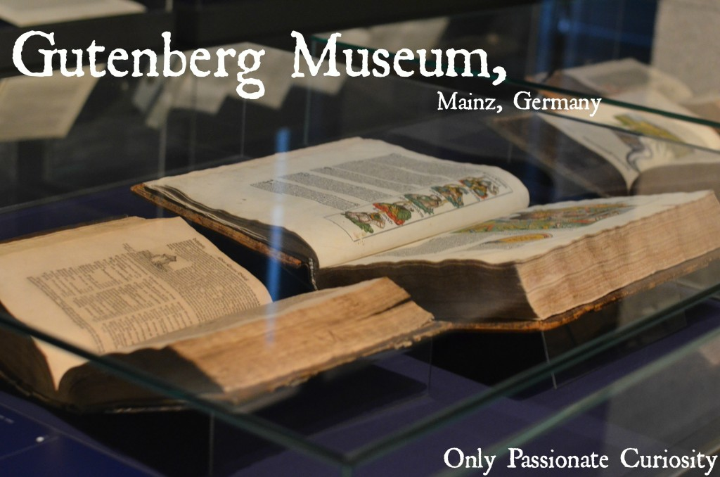 Visit the Gutenberg Museum to see the Gutenberg Bible
