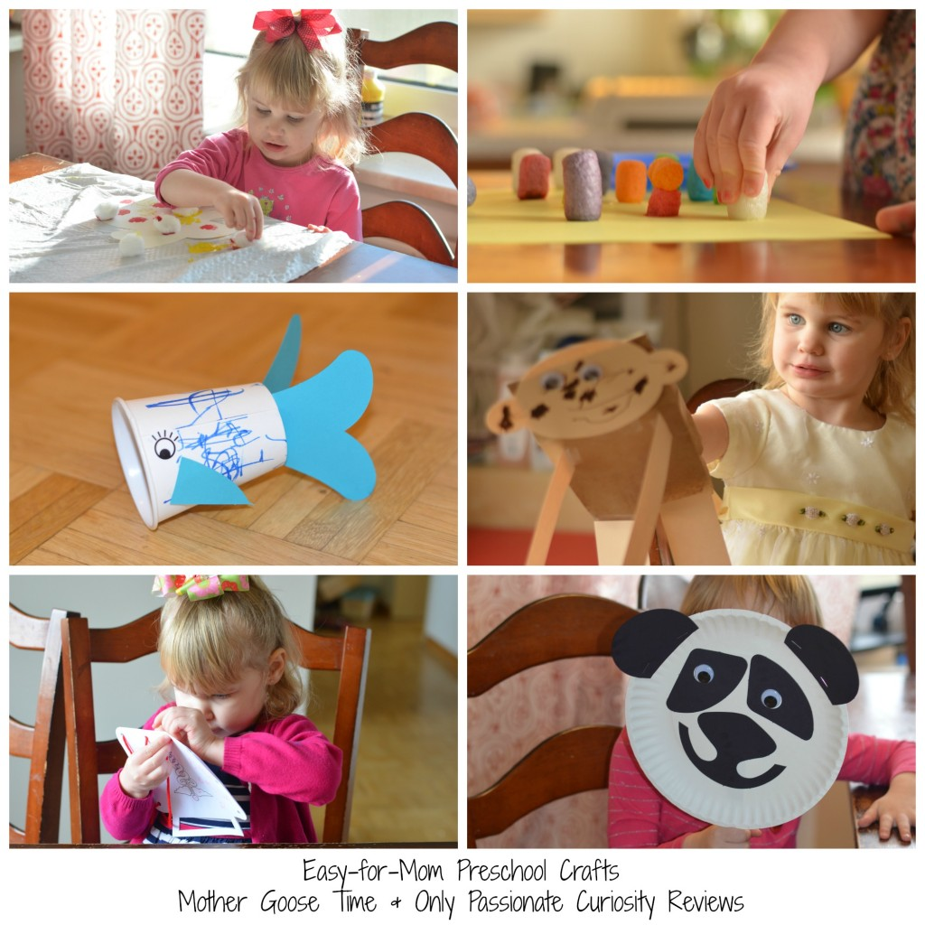 The best preschool program- complete craft packages from Mother Goose Time