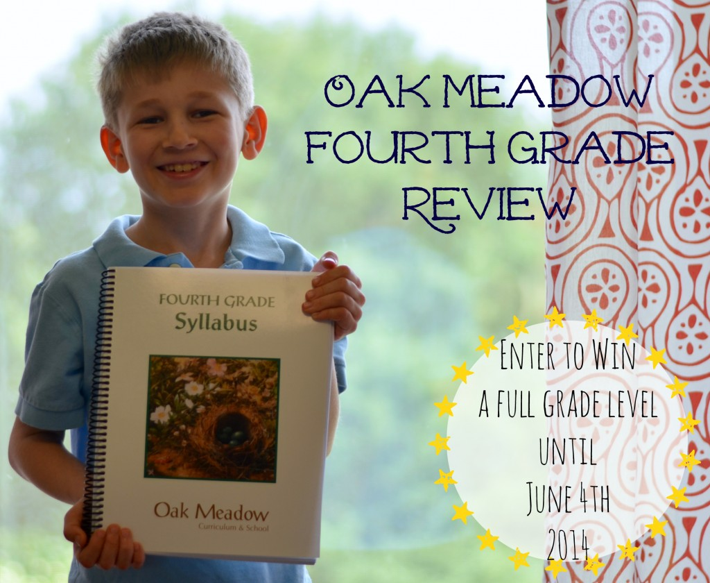 Win a full year curriculum from Oak Meadow, fourth grade review