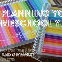 How I used an Erin Condren teacher planner in my homeschool