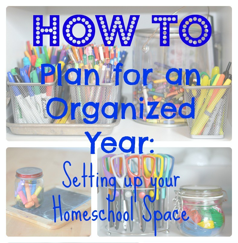 have a better year by starting off with an organized space