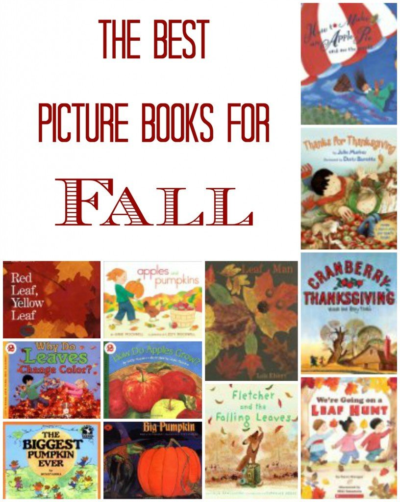 Best Children's Picture Books for Fall