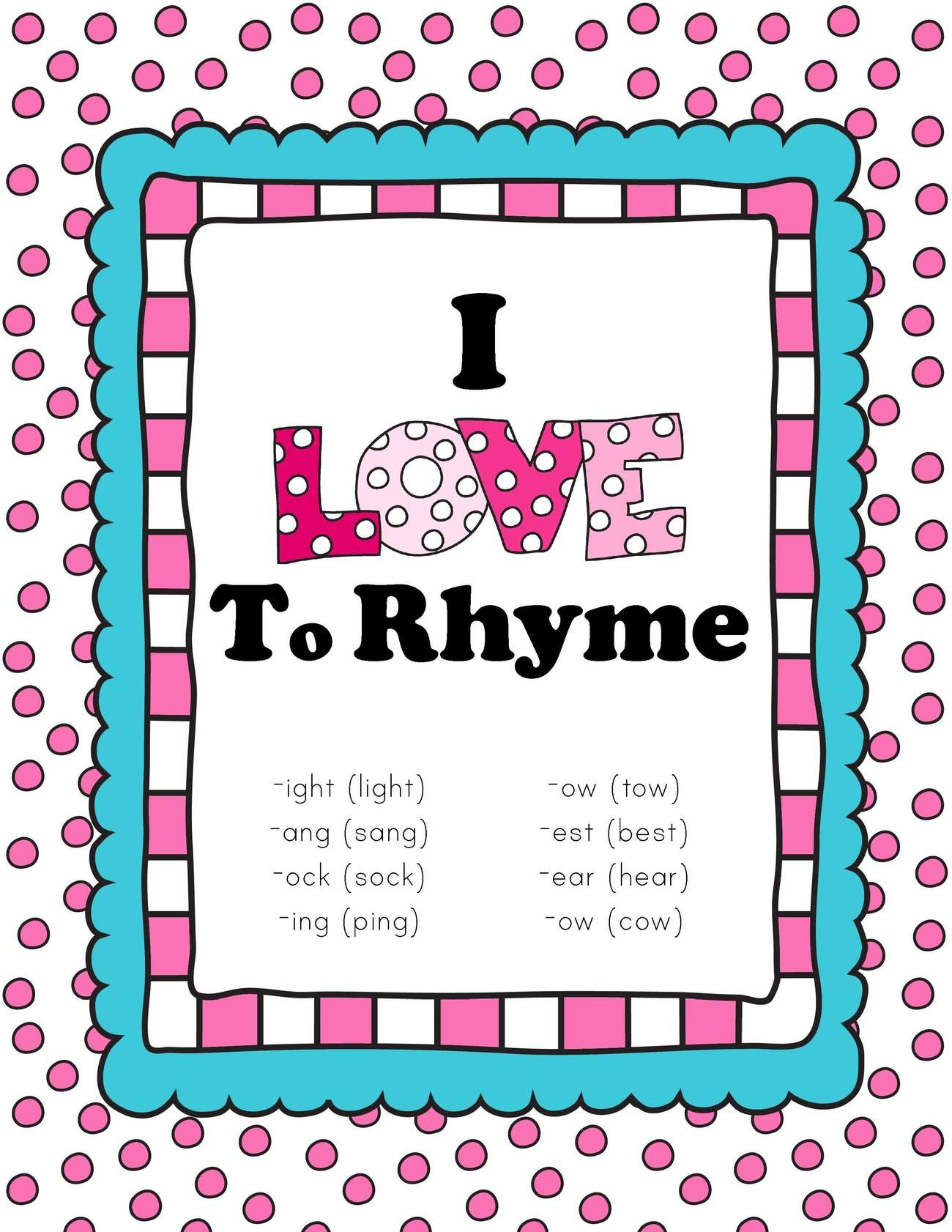 Worksheet Rythming valentines day themed rhyming pack only passionate curiosity download the love to rhyme read and sort in our shop