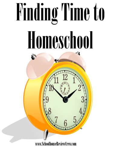Finding time to homeschool