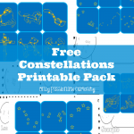 Learning about Constellations: Free Printable Pack