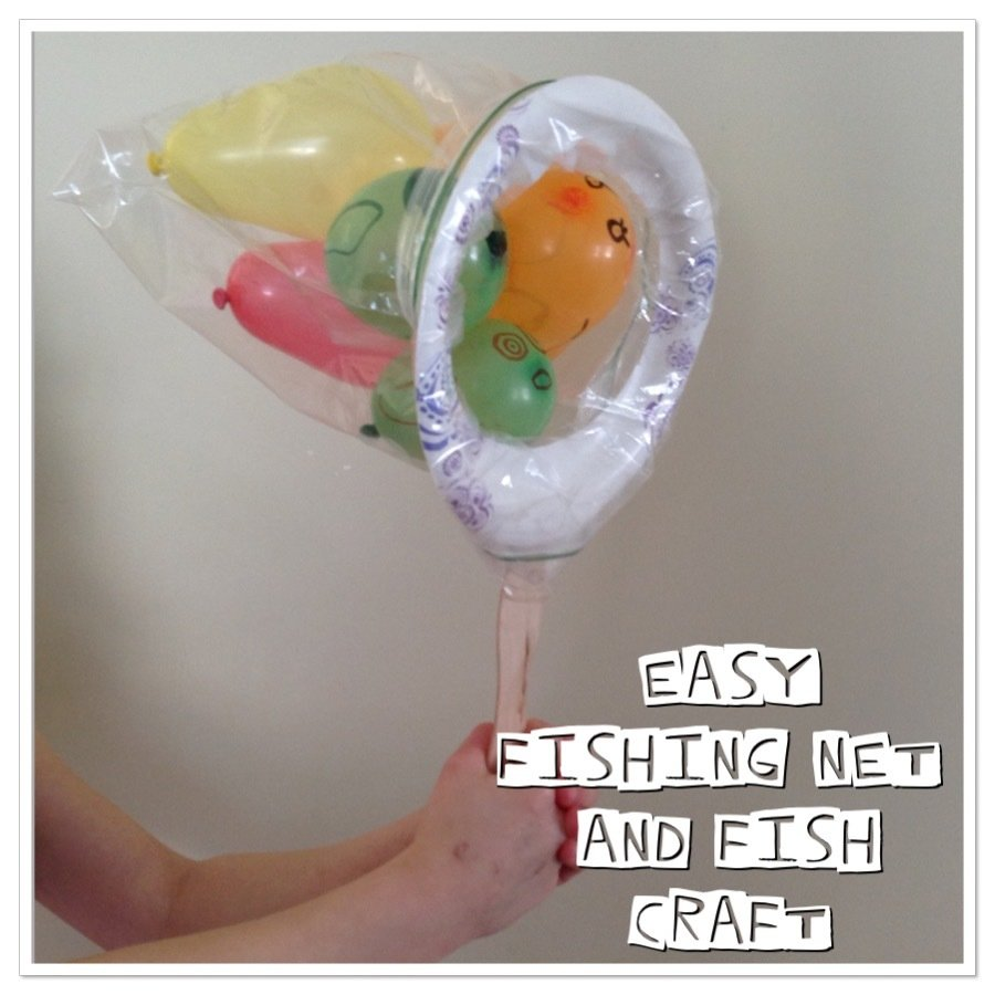 Guest Post: Easy Fun Fish Craft and Game