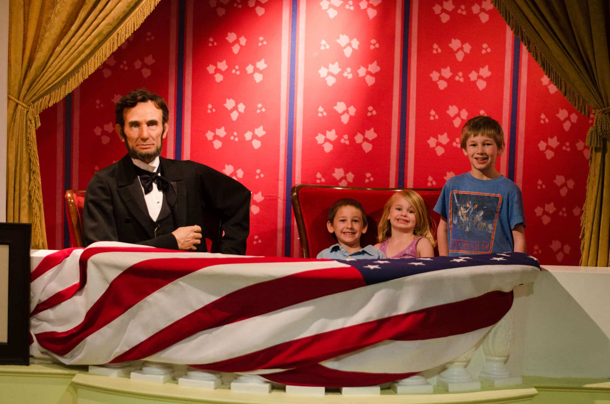 Field Trip Friday: Madame Tussauds, Washington DC