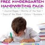Kindergarten Basics: Copywork and Journaling Printable Pack