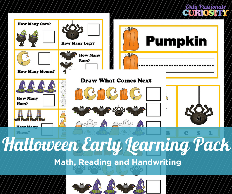 Halloween Early Learning Pack!