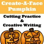 Create-A-Face Pumpkin Printable