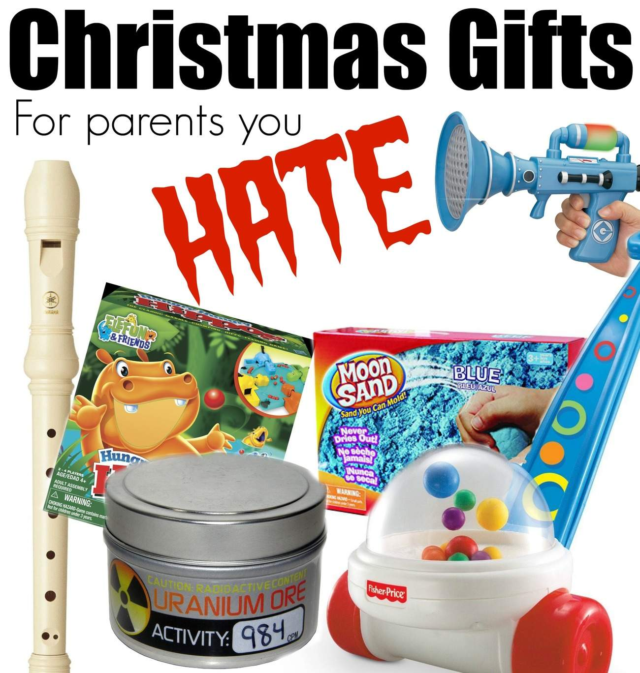 Christmas Gifts for Parents you Hate