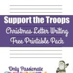 Write a Christmas Message to the Troops