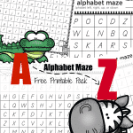 ABC Animal Alphabet Maze