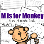 M is for Monkey