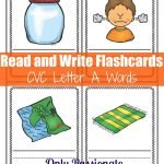 Write and Review: CVC Letter A Flashcards