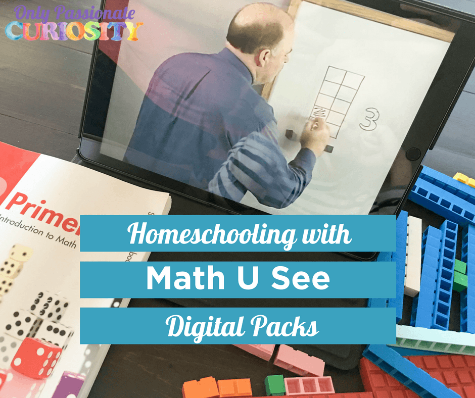 Math on the Go with Math U See