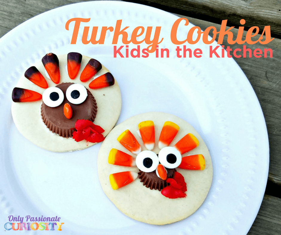Kids in the Kitchen: How to Make Turkey Sugar Cookies