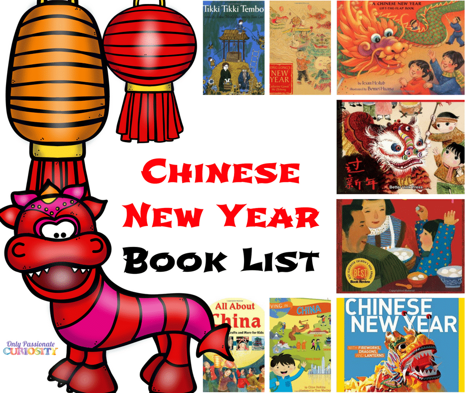 Chinese New Year Book List for Kids