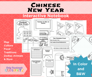 Chinese New Year Interactive Notebook