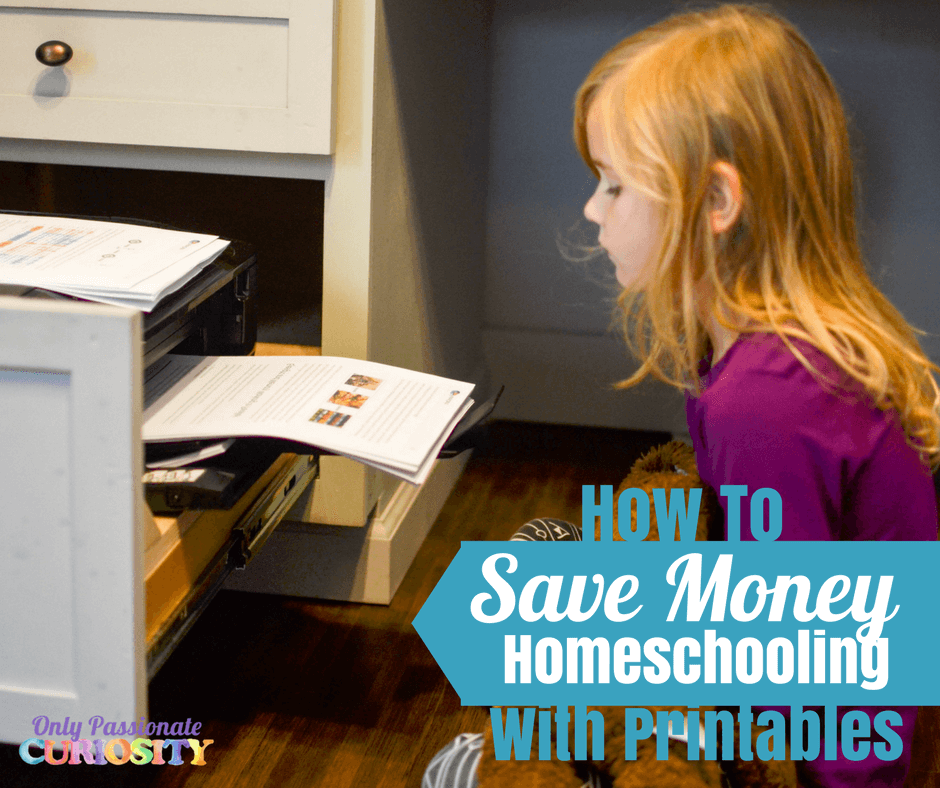 How to Save Money on Printable Free Homeschool Curriculum