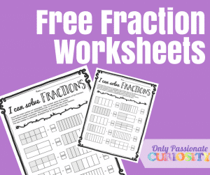 Easy Print-and-Go Fractions Practice
