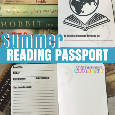 Printable Summer Reading Passport