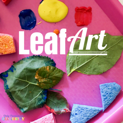 Art Meets Nature: Leaf Painting