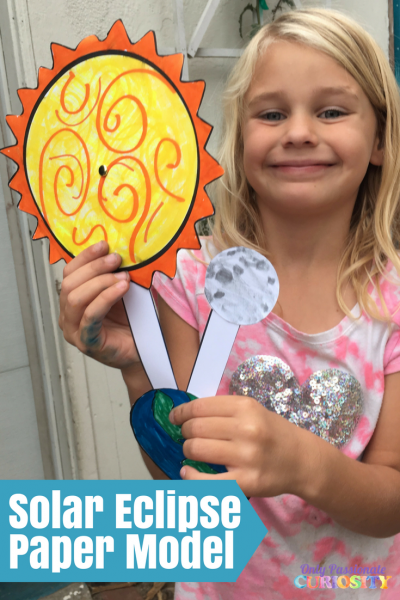 Solar Eclipse Paper Model