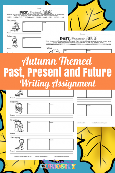 Fall Past, Present and Future Writing Pack
