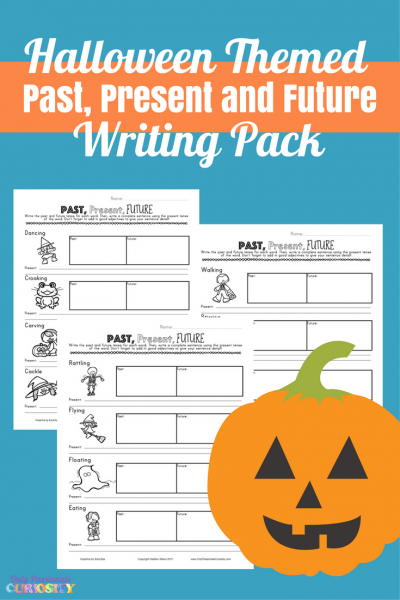 Halloween Past, Present, Future Writing Pack