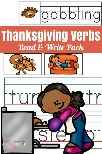 Thanksgiving Verbs