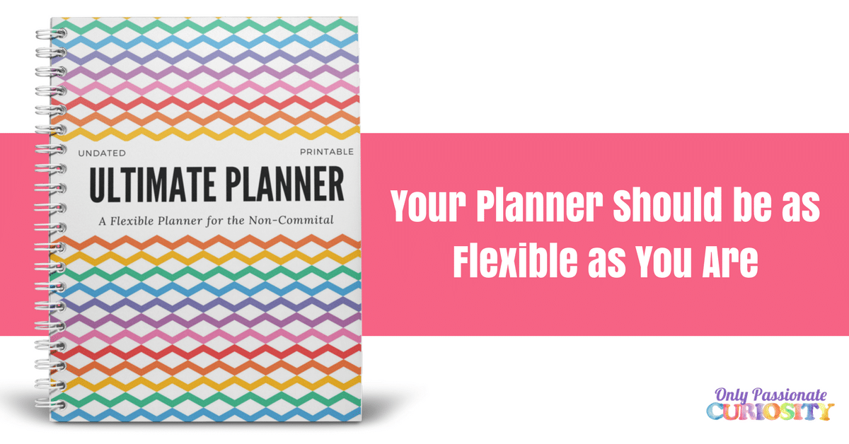 Pick up our Ultimate Planner!