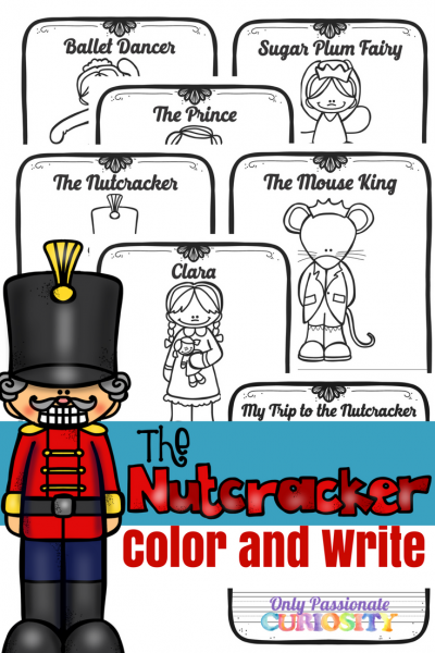 Nutcracker Color and Write