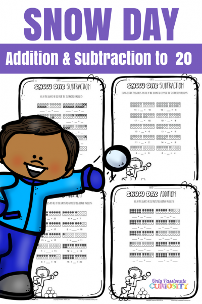 Snow Day Math: Addition and Subtraction