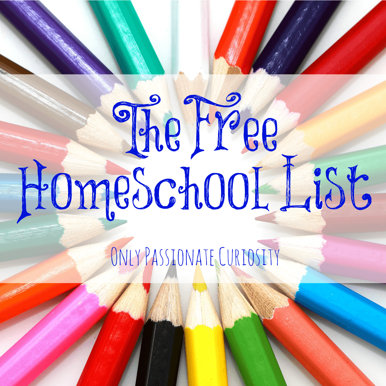 The Free List: Free Homeschool Curriculum